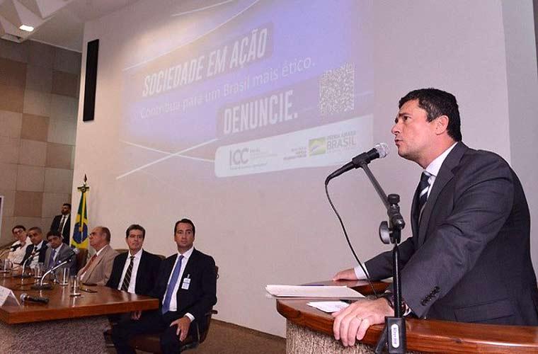 Sérgio Moro lança canal para você denunciar corrupção